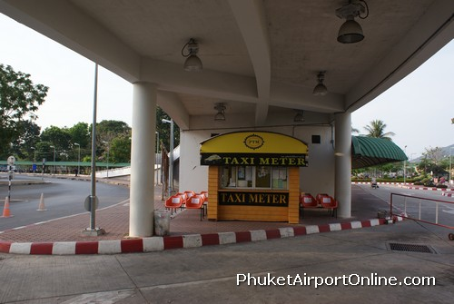 Phuket Airport Taxi Counter
