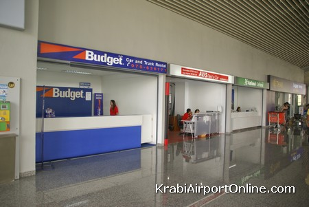 Car rental at Krabi Airport