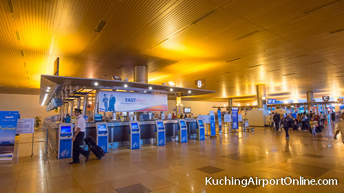 Kuching Airport Check-in Counters