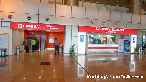 ATM and currency exchange