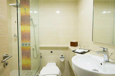 Bathroom at Airside Transit KLIA2 Hotel