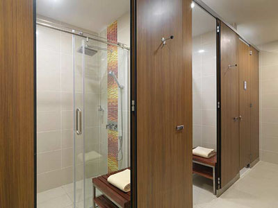 Showers at Airside Transit KLIA2 Hotel
