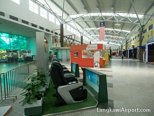 Firefly Sales Counter at Langkawi Airport
