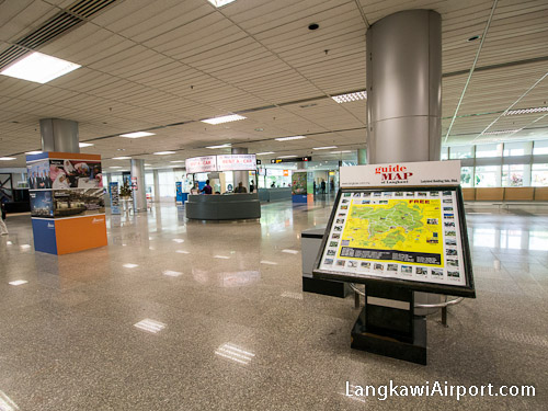 Arrivals Car Rental and Transportation Counters