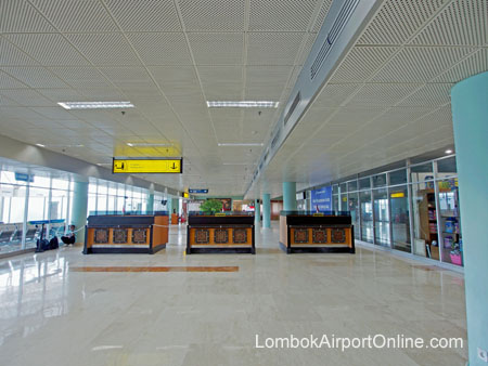 International Departure Immigration Counters