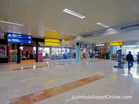 Lombok Airport Departures Area