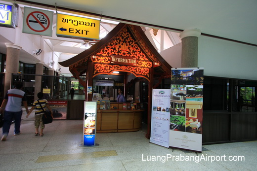 Arrivals Information Counter