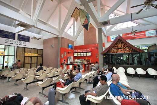 Airport Terminal Waiting Area - Restaurant