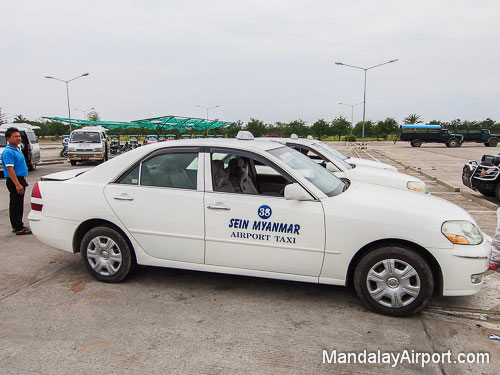 Mandalay Airport Private Taxi