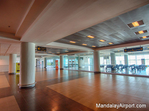 Mandalay Airport Departures Area