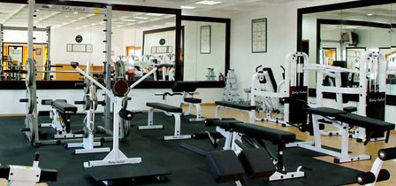 Gym at Hulhule Island Hotel Maldives