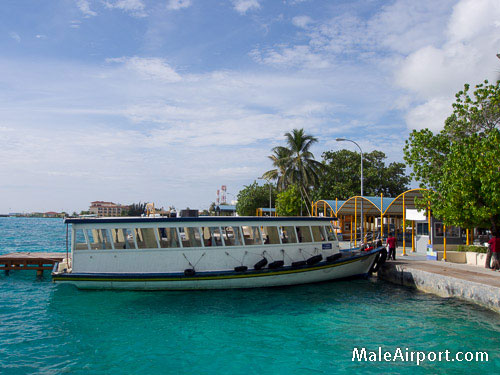 Airport Ferry between Male Airport and Male city