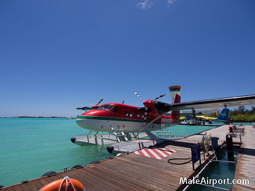 Maldivian Air Taxi Seaplane