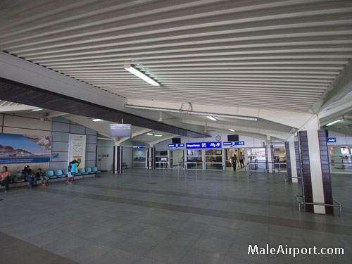 Male Airport Maldives Departures Area