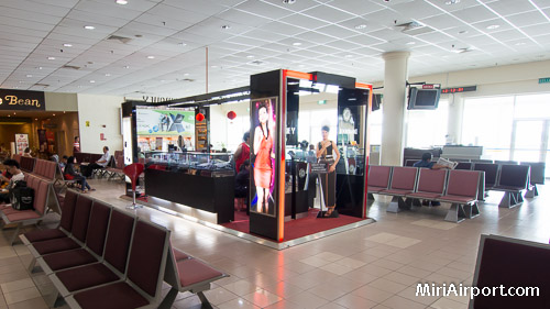 Miri Airport Departures Waiting Area