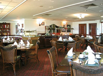 Restaurant at Britannia Hotel Newcastle Airport
