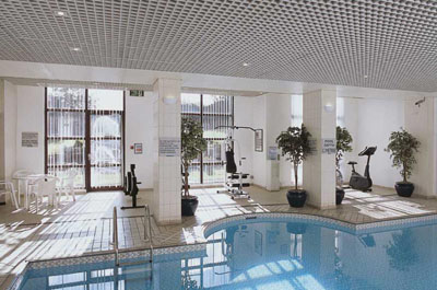 Indoor Pool Novotel Newcastle Airport Hotel