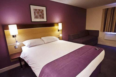 Room at Premier Inn Newcastle Airport