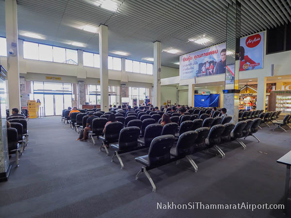 Departure Gate Waiting Area