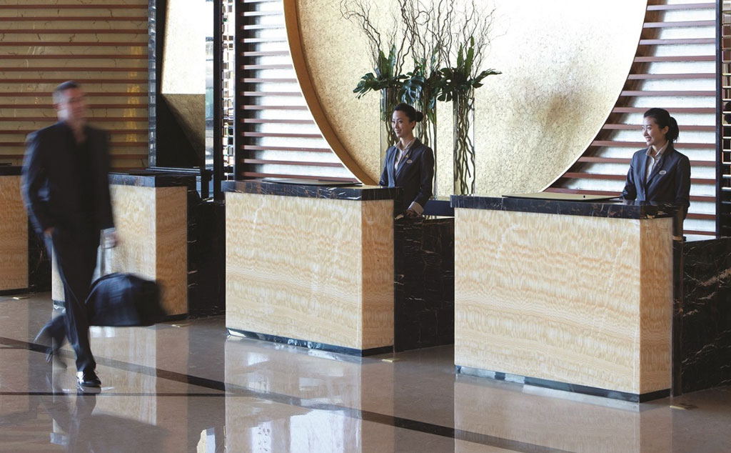 Front Desk at Cordis Beijing Capital Airport