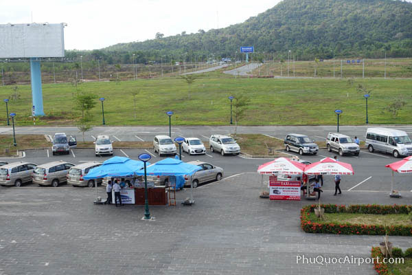 Phu Quoc Airport Taxi Counters