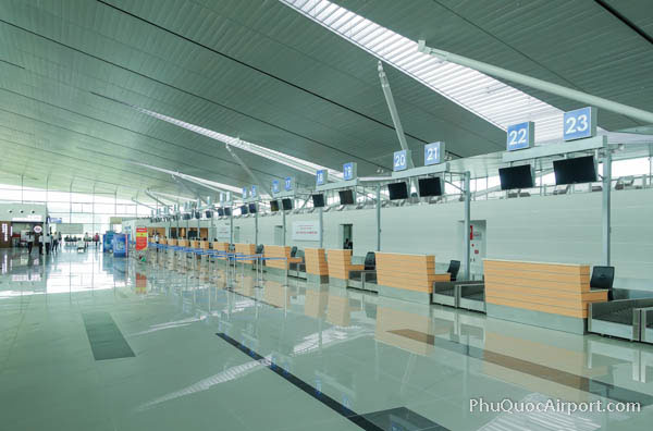 Phu Quoc Airport Check-in Counters