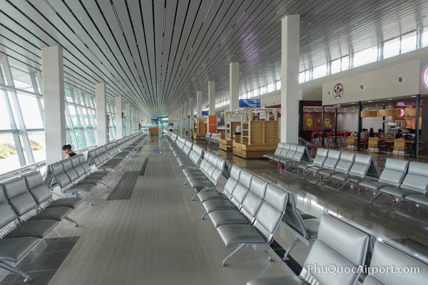 Departures Level Phu Quoc Airport