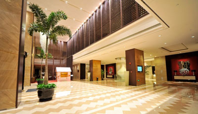 The QUBE Pudong Airport Hotel Lobby