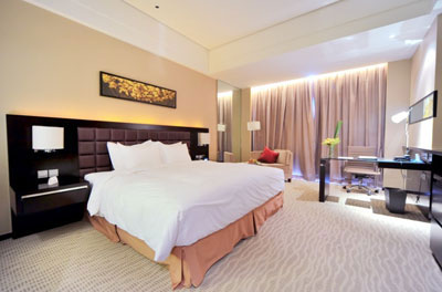 The QUBE Pudong Airport Hotel Room