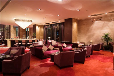 The QUBE Pudong Airport Hotel Lobby Lounge