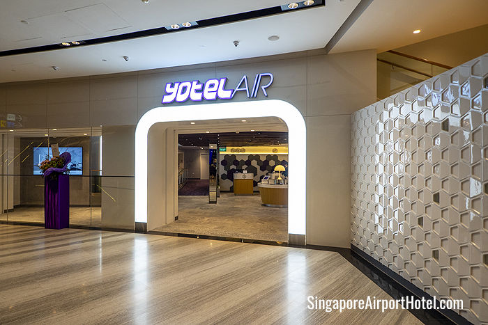 YOTELAIR Singapore Airport Entrance