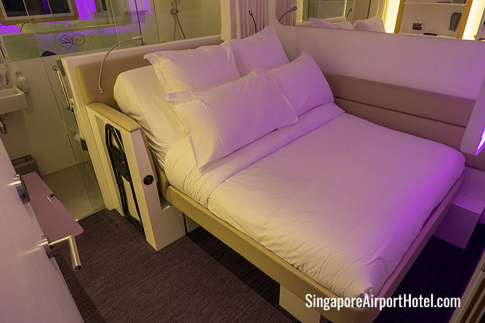 Premium Queen Cabin at Yotel Changi