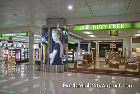 Ho Chi Minh City Airport Duty Free Shopping