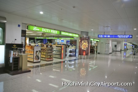 Saigon Airport Duty Free Shopping