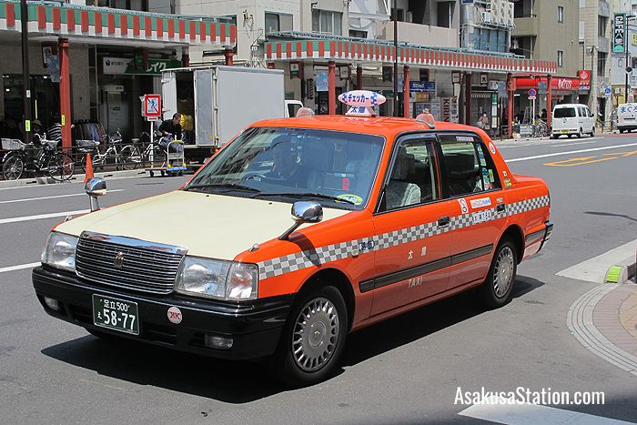A Checker Cab Taxi