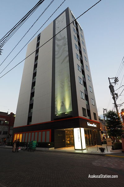 The Richmond Hotel is ideally placed in the heart of Asakusa