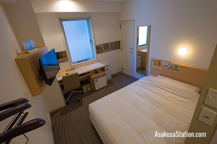 Single Room at Super Hotel Asakusa