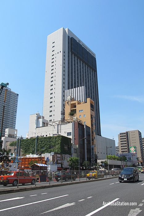 The Asakusa View Hotel building