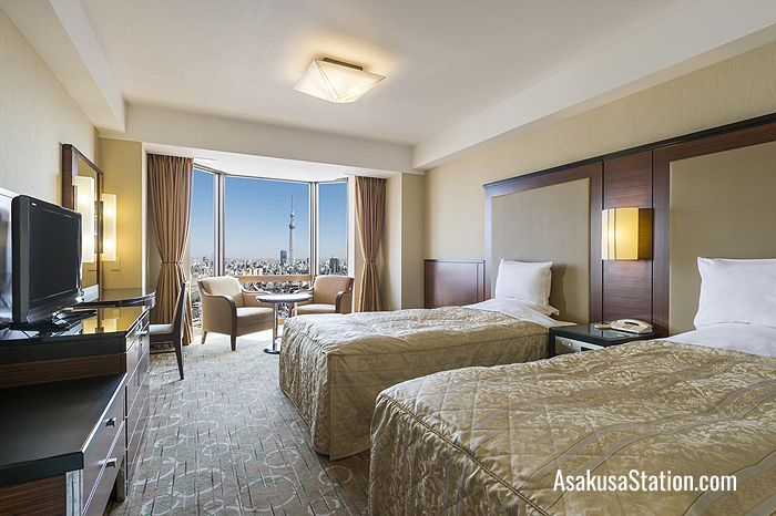 Twin Room at Asakusa View Hotel