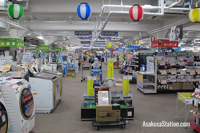 Electronic goods on the 6th floor