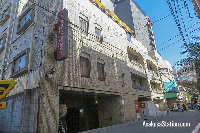 A street view of Khaosan World Asakusa Ryokan & Hostel