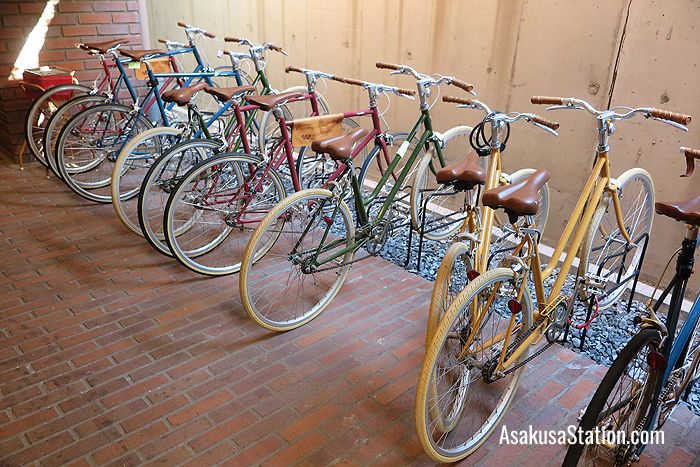 Wired Hotel rental bicycles