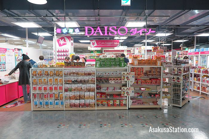 Bargains galore at Daiso
