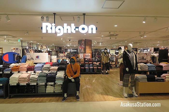 Right-On sells casual fashion for all the family