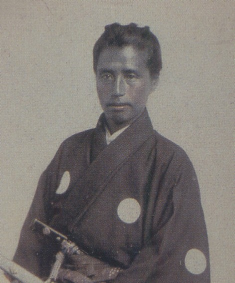 Katsu Kaishu in San Francisco, 1860; this image is Public Domain