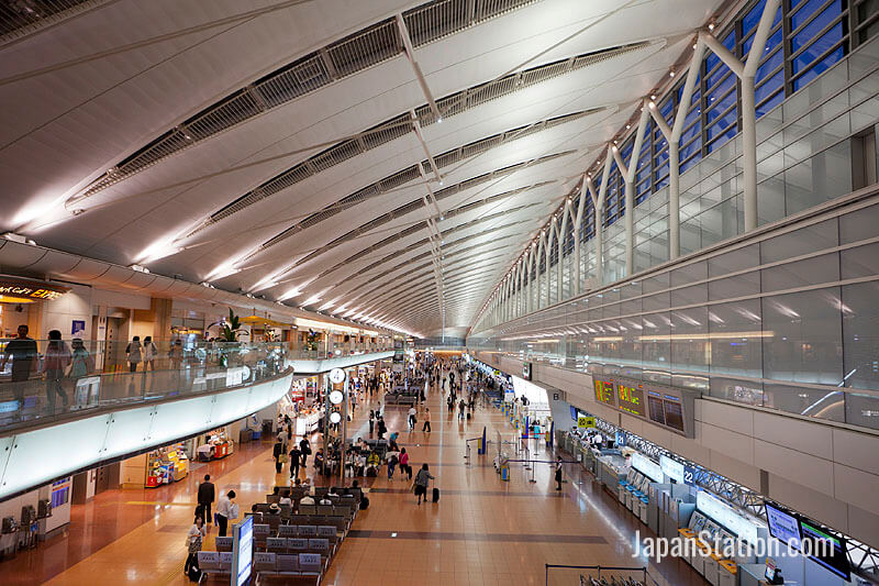 Haneda Airport is the world's fourth-busiest