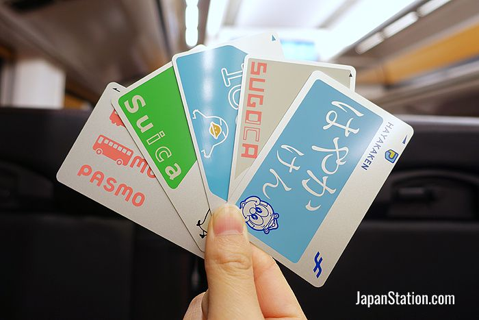It doesn't matter where you get your IC card, they can be used everywhere in Japan