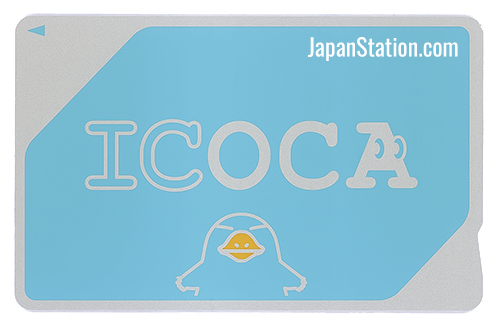 Icoca IC Card - JR West, Osaka