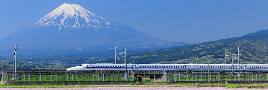 Shinkansen train network