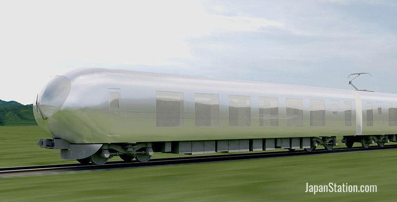 Seibu have released an initial concept design image for the new model limited express